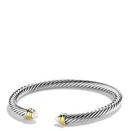 David Yurman Cable Classics Bracelet with Pearls and Gold | Bloomingdale's (US)