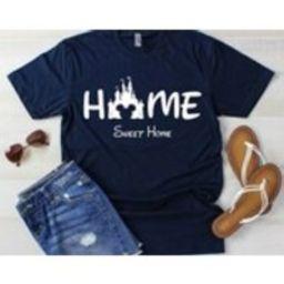 Disney, Disney Vacation, Home Sweet Home, Disney Vacation Club, Disney Family Shirts, First Disney Trip, Disneybound | Etsy (US)