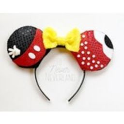 Mickey and Minnie Ears, Mickey Mouse Ears, Minnie Mouse Ears, Mickey Ears Headband, Minnie Ears, Mickey Mouse Inspired Ears, PreOrder | Etsy (US)