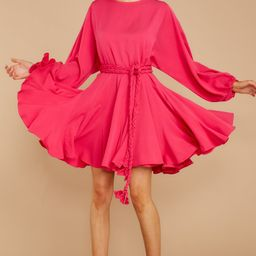 Everyday Here Pink Dress   Red Dress