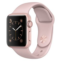 Apple Watch Series 1 38mm Rose Gold Aluminum Case with Pink Sand Sport Band | Target