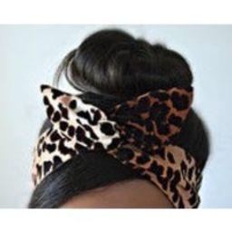 Leopard Bow, Leopard head bands, dolly bow headband , Chic Head wrap, A1   Etsy (US)