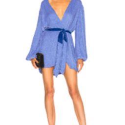 retrofete for FWRD Gabrielle Robe Dress in Blue | FWRD