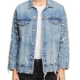 Sunset & Spring Embellished Denim Jacket - 100% Exclusive | Bloomingdale's (US)