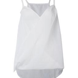 White Chiffon V-Neck Camisole - Women | Zulily