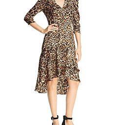 Lucy Paris Drew Puff-Sleeve Leopard Dress | Bloomingdale's (US)