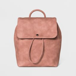 Structured Flap Backpack - Universal Thread Blush | Target