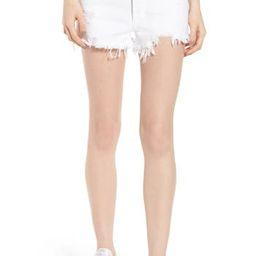 Women's Agolde Parker Distressed Denim Shorts | Nordstrom