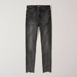 High Rise Ankle Jeans | Abercrombie & Fitch US & UK