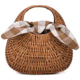 Loeffler Randall Lorna basket bag - Brown   FarFetch US