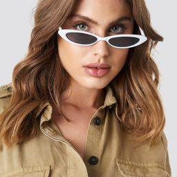 MANGO Alanis Sunglasses - White | NA-KD Global
