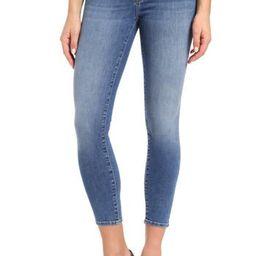 Women's Mavi Jeans Gold Adriana Stretch Super Skinny Ankle Jeans, Size 26 - Blue   Nordstrom
