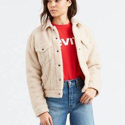 Levi's All Over Sherpa Trucker Jacket - Women's L | LEVI'S (US)