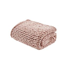 Chunky Double Knit Handmade Throw Blanket Blush, Adult Unisex, Size: 50x60 inches   Target