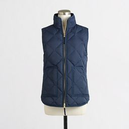 Factory quilted puffer vest | J.Crew Factory