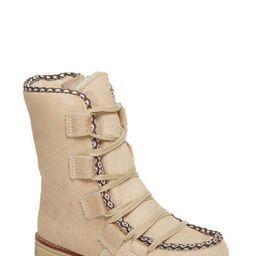 Women's Royal Canadian Kitchener Waterproof Genuine Calf Hair Snow Boot, Size 6 M - Beige   Nordstrom