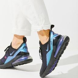 Nike Air Max 270 Women's Sneaker - Blue 8.5 at Urban Outfitters   Urban Outfitters (US and RoW)