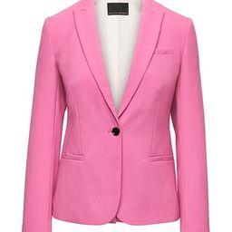 Banana Republic Womens Petite Classic-Fit Lightweight Wool Blazer Pink Size 0 | Banana Republic US