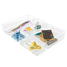 Acrylic Drawer Organizers   The Container Store