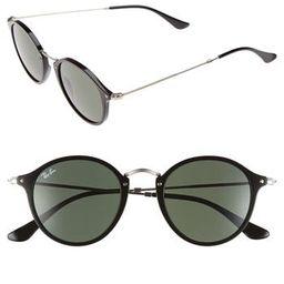 Men's Ray-Ban 49Mm Retro Sunglasses - Black/ Green | Nordstrom