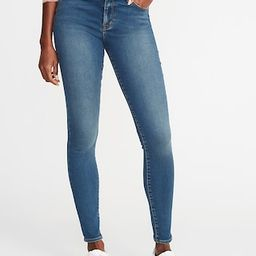 Mid-Rise Built-In Warm Rockstar Super Skinny Jeans for Women | Old Navy US