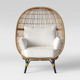 Southport Patio Egg Chair - Linen - Opalhouse | Target