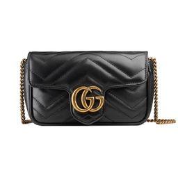 GG Marmont matelassé leather super mini bag | Gucci (US)