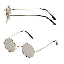 Topman Yoko Round Sunglasses | The Bay