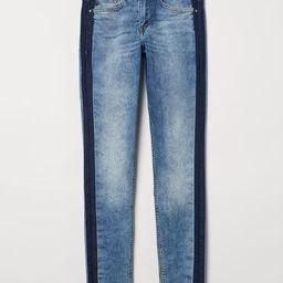 H & M - Super Skinny Regular Jeans - Blue | H&M (US)