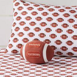Football Throw Pillow | Crate & Barrel
