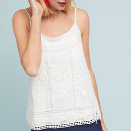 Laney Embroidered Cami | Anthropologie (US)