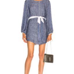 retrofete for FWRD Grace Dress in Blue,Purple | FWRD