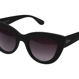 QUAY AUSTRALIA Kitti (Black/Smoke Lens) Fashion Sunglasses | Zappos