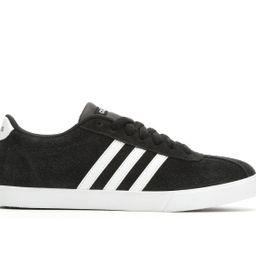 Women's Adidas Courtset Sneakers (Black - Size 5.5) | Shoe Carnival