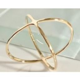 14k/10k Crisscross ring, 14k Criss cross ring, 14k Thumb ring, 14k Double Infinity Ring, 14k X Ring, 14k Geometric Ring, 14k Infinity Ring | Etsy (US)