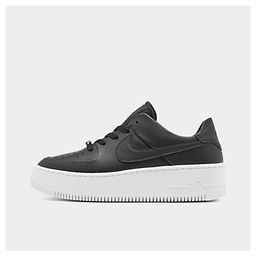 Nike Women's Air Force 1 Sage XX Low Casual Shoes in Black Size 6.5 Suede | Finish Line (US)