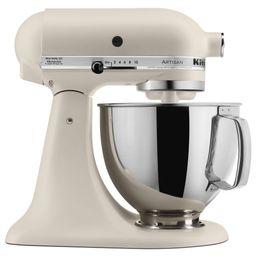 KitchenAid 5qt Artisan Series Tilt-Head Stand Mixer Matte Fresh Linen - KSM150PSFL | Target