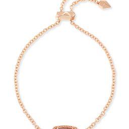 Elaina Rose Gold Chain Bracelet in Brown Mother of Pearl   Kendra Scott