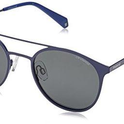 Polaroid Sunglasses Unisex-Adult Pld 2052/s PLD2052S Polarized Round Sunglasses, 0PJP/M9, 51 mm | Amazon (US)