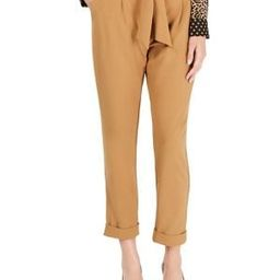 Tapered-Leg Paperbag Pants   The Bay
