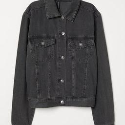 H & M - Denim Jacket - Black   H&M (US)