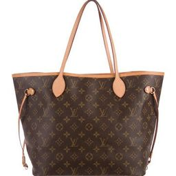 Louis Vuitton Monogram Neverfull MM NM | The Real Real, Inc.