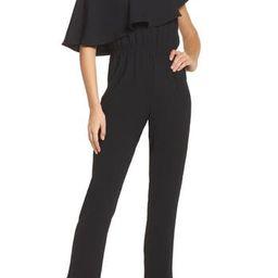 Women's Ali & Jay Le Boulevard One-Shoulder Jumpsuit, Size X-Small - Black | Nordstrom