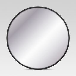 Decorative Circular Large Wall Mirror Black - Project 62 | Target
