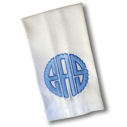 Applique Monogrammed Guest Towel   Etsy (US)