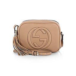 Gucci Women's Soho Leather Disco Bag - Camelia   Saks Fifth Avenue