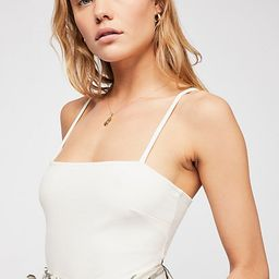 Square Neck Bodysuit by Intimately at Free People | Free People (US)