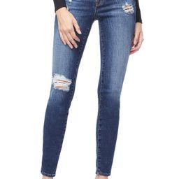 Women's Good American Good Legs Cheetah Pockets High Waist Jeans, Size 00 - Blue | Nordstrom