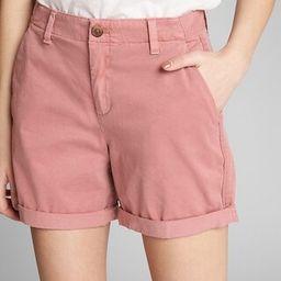 "5"" Girlfriend Chino Shorts | Gap US"
