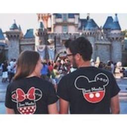 Disney Bride and Groom Shirts, Disney Just Married Shirts, Disney Anniversary Shirts , Disney Honeymoon Shirts, Disney Couples Shirt | Etsy (US)